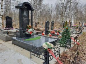 Благоустройство места захоронения